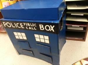 Our TARDIS!