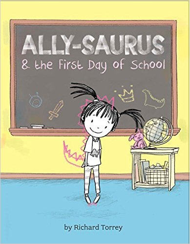 PB Ally-saurus first day of school