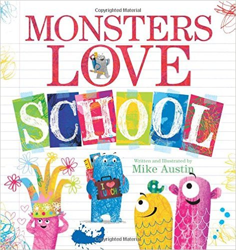 PB Monsters love school